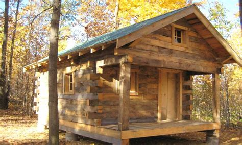 Small Rustics Log Cabins Plan Simple Log Cabins, Micro