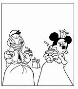 Musketeers Coloring Three Mickey Goofy Donald Janitors Cliparts Clip Drie Library Clipart Musketiers sketch template