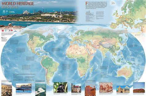 Mapa Del Patrimonio Mundial De La Unesco (20152016
