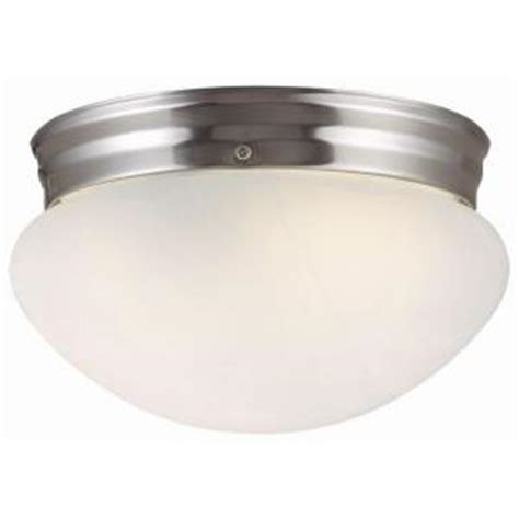 design house millbridge 1 light satin nickel ceiling light