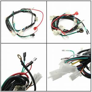 1 X Electric Start Wiring Loom Harness For Pit Bike Atv