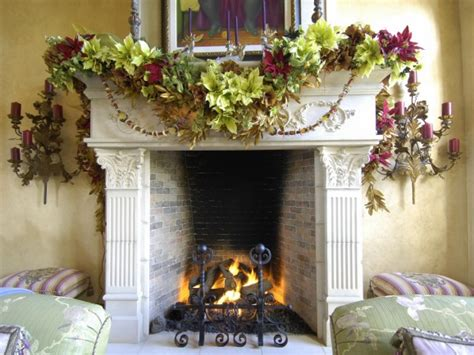 elegant fireplace christmas decorating ideas mantels interior design styles and color schemes for home decorating hgtv