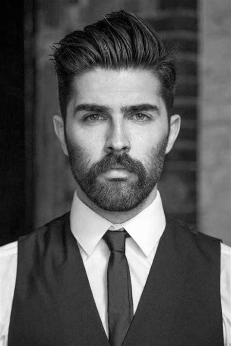 75 Men's Medium Hairstyles For Thick Hair - Manly Cut Ideas