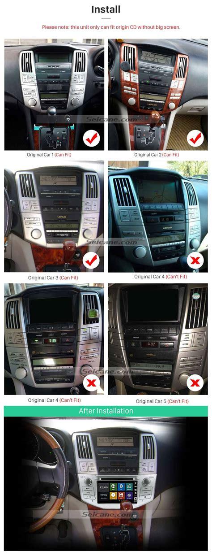 lexus rx     car stereo
