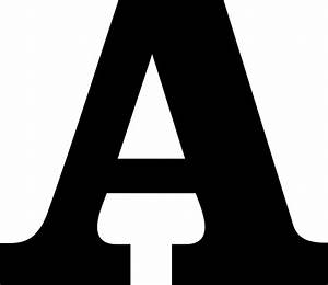 File Temporary File Letter A Svg