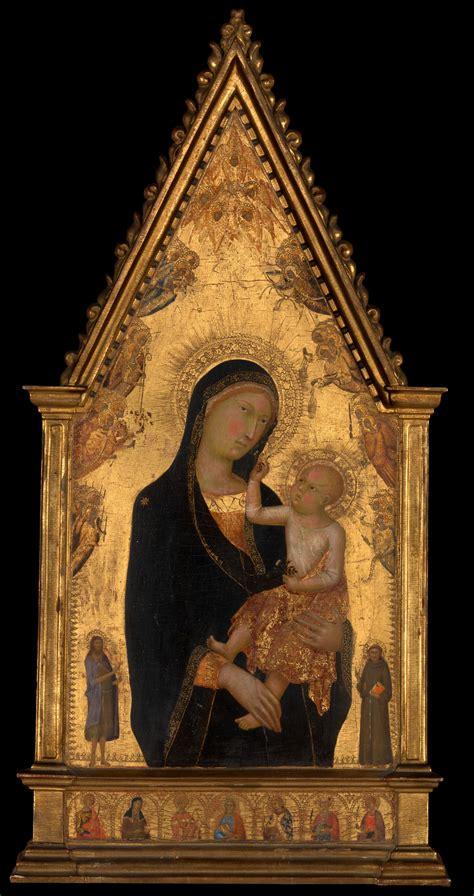 lippo memmi filippo  memmo madonna  child