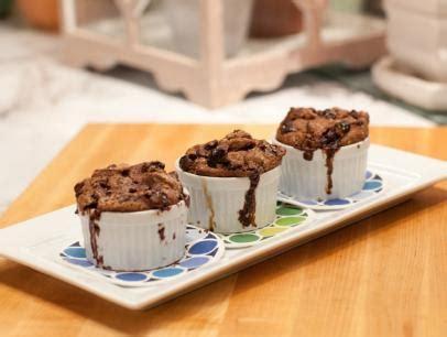 bourbon soaked cherry bread pudding  vanilla glaze recipe nancy fuller food network
