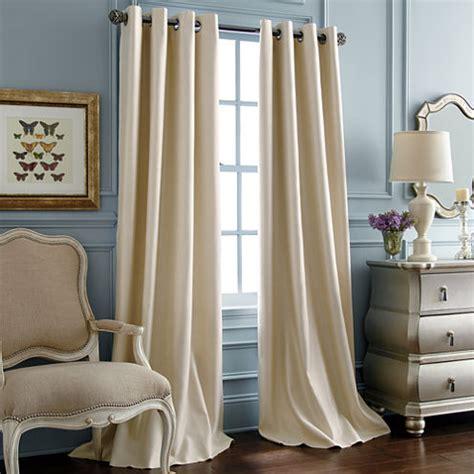 drapes jcpenney royal velvet supreme grommet top blackout curtain panel