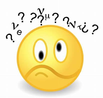 Confused Feelings Clipart Face Wheel Wie Neutrinos