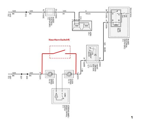 re wiring horn w button mustangforums