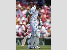 beleaguered england captain alastair cook leaves the field