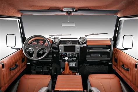 2016 Land Rover Defender Review Price Specs Interior Us