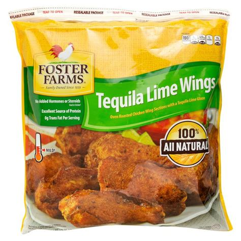 The perfect starter for any bbq or the above price is per 1kg with a minimum of 3kg per order. Foster Farms Tequila Lime Wings (5 lb) from Costco - Instacart