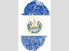 Free illustration El Salvador, Flag, Fingerprint Free