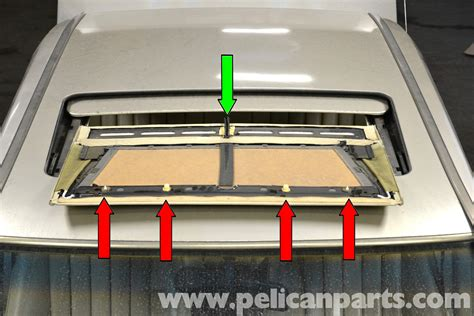mercedes 190e sunroof panel removal and replacement w201 1987 1993 pelican parts diy