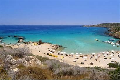 Cyprus Beach Protaras Konnos Bay Beaches Paralimni