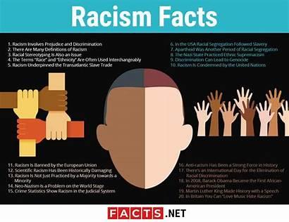 Racism Facts Discrimination Prejudice History Infographics Culture