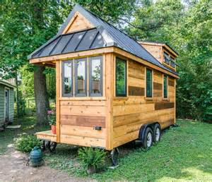 tiny home cedar mountain tiny house affordable option from new frontier tiny house blog