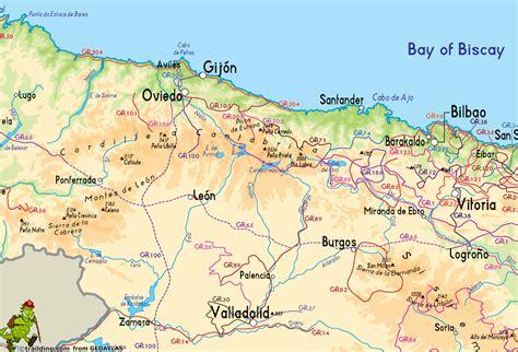 Andalousie Espagne Carte