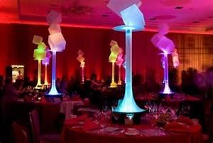 neon centerpieces Morgan Pinterest