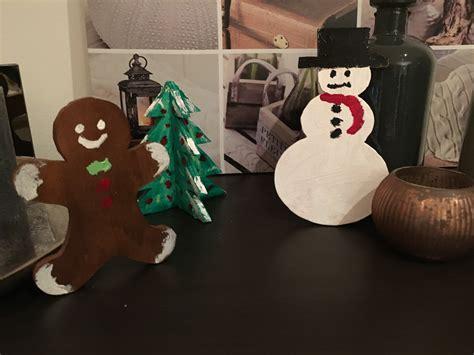 weihnachtsdeko mit holz weihnachtsdeko aus holz basteln mit kindern
