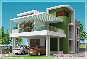 simple modern home square feet bedroom contemporary kerala ...