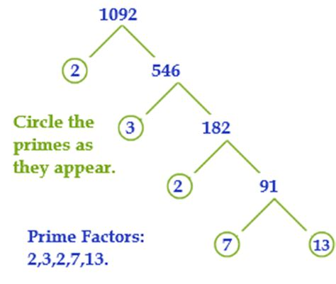 prime factorization using exponents worksheets for all