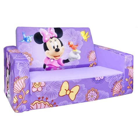 minnie mouse flip open sofa bed marshmallow furniture flip open sofa