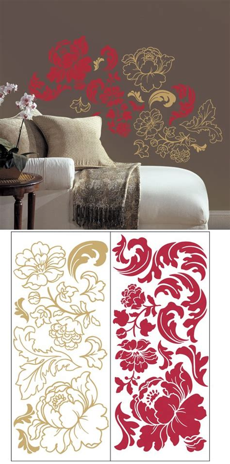 guilded rose  stick home wall art sale