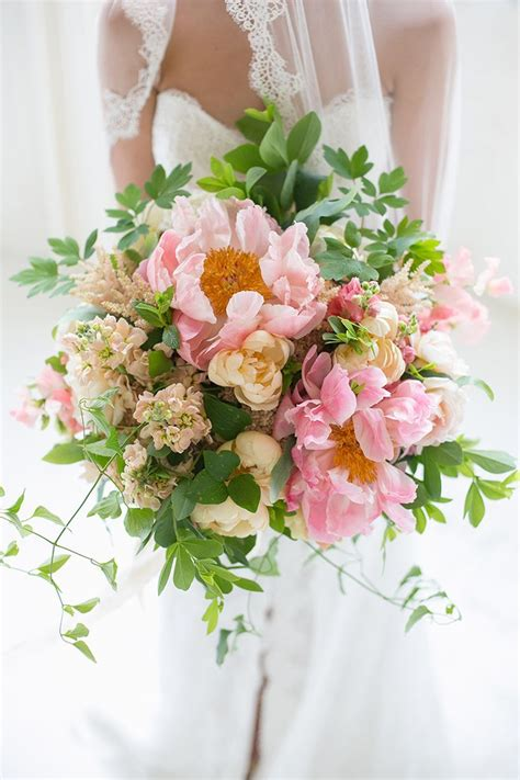 17 Best Images About Peony Wedding Bouquet On Pinterest