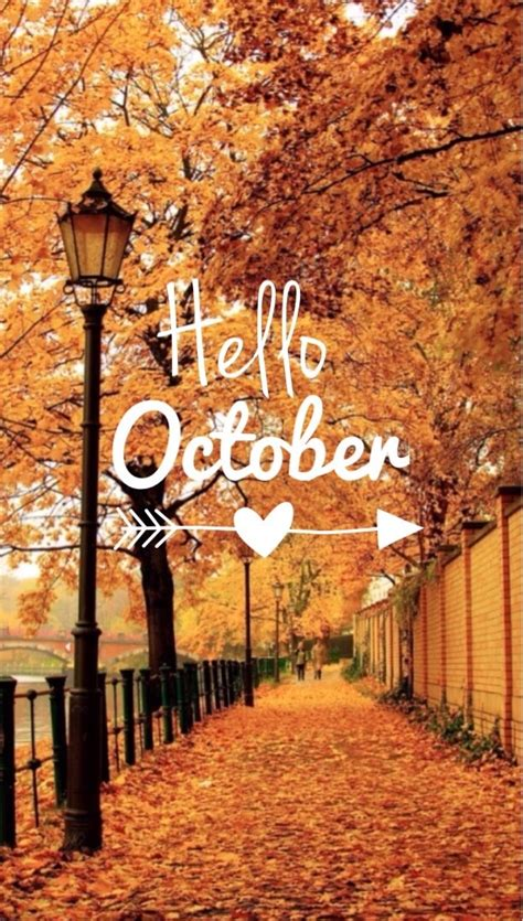 Hello October discovered by Djenna ♕ on We Heart It