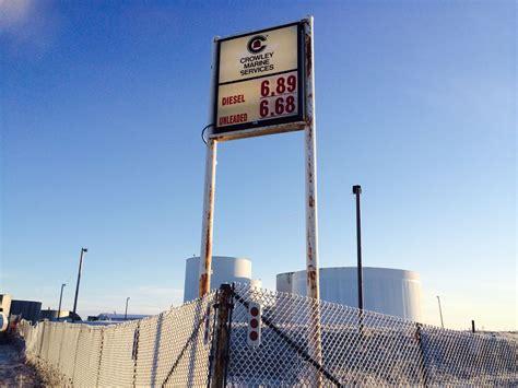 bush alaska locked  high gas prices  fuel delivered
