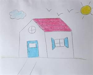 Comment Dessiner Une Maison Cabane Ides
