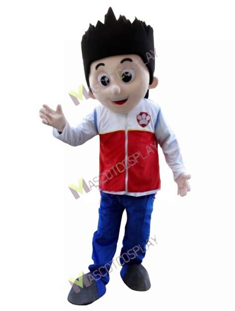 paw patrol ryder mascot costume cosplay carton mascot