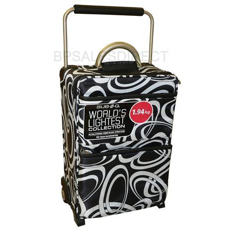 The World's Lightest Luggage Set Sub0g Zero Brand New Ebay