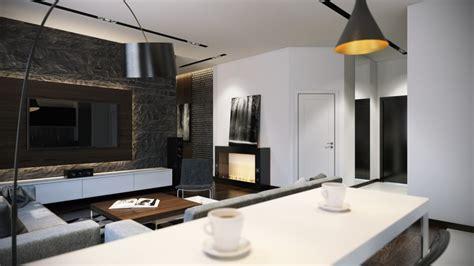 Black arc lamp   Interior Design Ideas.