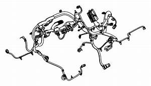 Jeep Wrangler Engine Wiring Harness  4wd  Manual Trans