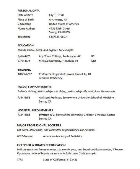 doctor resume template  tanweer ahmed resume