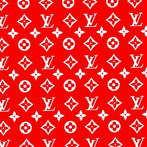 louis vuitton pattern red