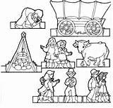 Pioneer Coloring Churchofjesuschrist sketch template