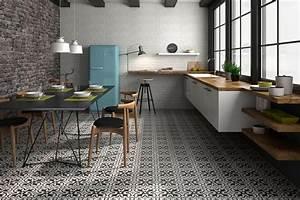 Renovation Carrelage Sol Cuisine : carrelage ciment dans le morbiahn carrelage avenue ~ Edinachiropracticcenter.com Idées de Décoration