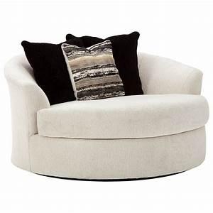 Ashley, Furniture, Cambri, 9280121, Oversized, Round, Swivel, Chair