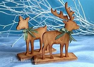 Weihnachtsbasteln Aus Holz : weihnachtsbasteln laubs gearbeit dekorative waldbewohner ~ Orissabook.com Haus und Dekorationen