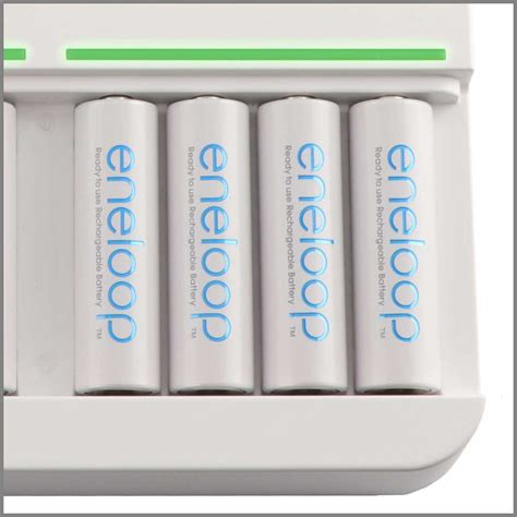 eneloop charger charge status bq cc63