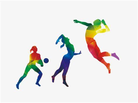 sport colors color sports figures color clipart sports clipart color