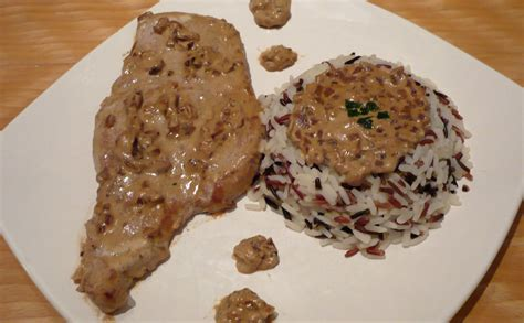 recette de cuisine beninoise escalope de porc et pâtes wecook