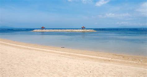 sanur beach bali point  interest fun activities map