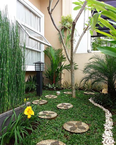 desain taman minimalis lahan sempit  dekor rumah