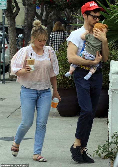 Hilary Duff And Matthew Koma Step Out With Daughter Banks