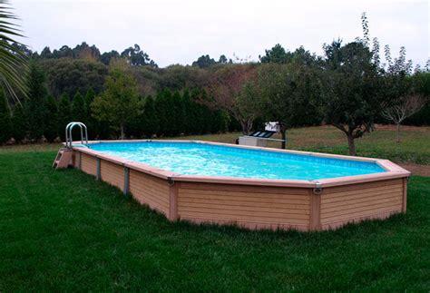 Pictures Of Semi Inground Pools  Pool Design Ideas